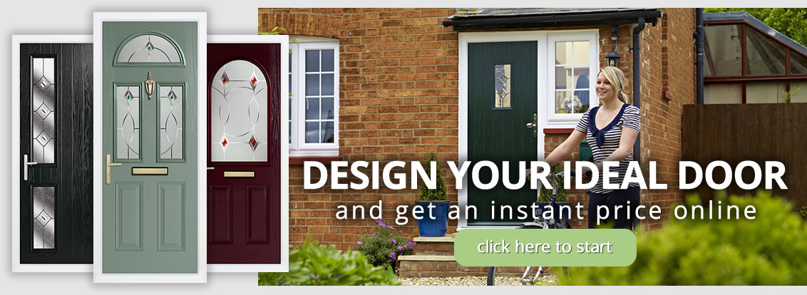 High performance composite doors