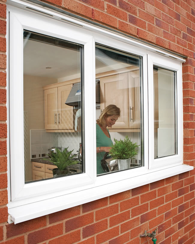 Upvc tilt turn windows double glazed window prices online for Replacement upvc windows