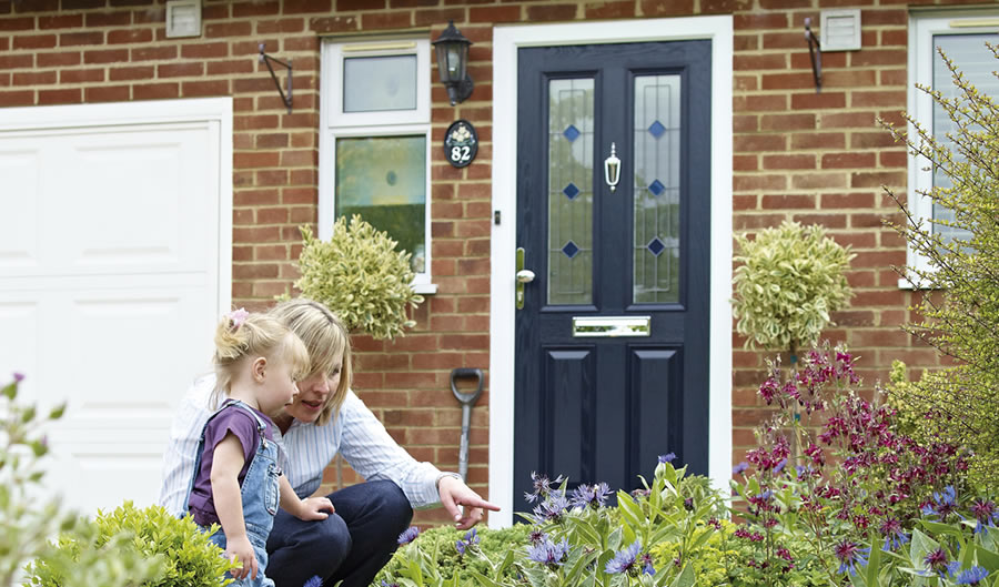 Choosing the right composite front door