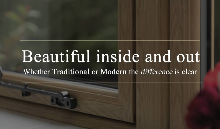 What are Flush Sash Windows?