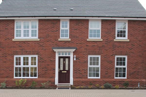 coloured upvc front doors kent