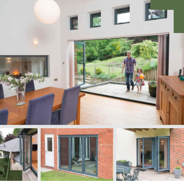 uPVC or Aluminium Bifold Doors? Our tips for choosing the right one for your home