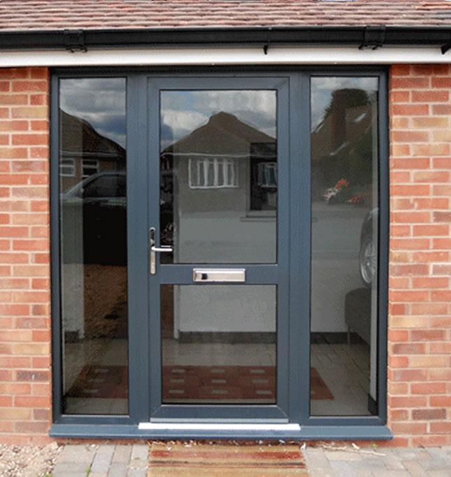 aluminium external doors harlow
