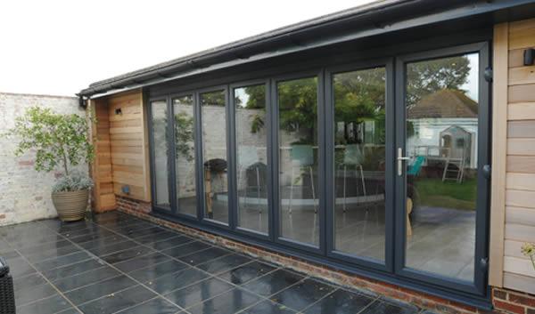 aluminium bifold doors braintree