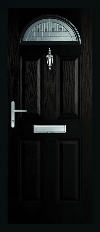 black composite door brentwood