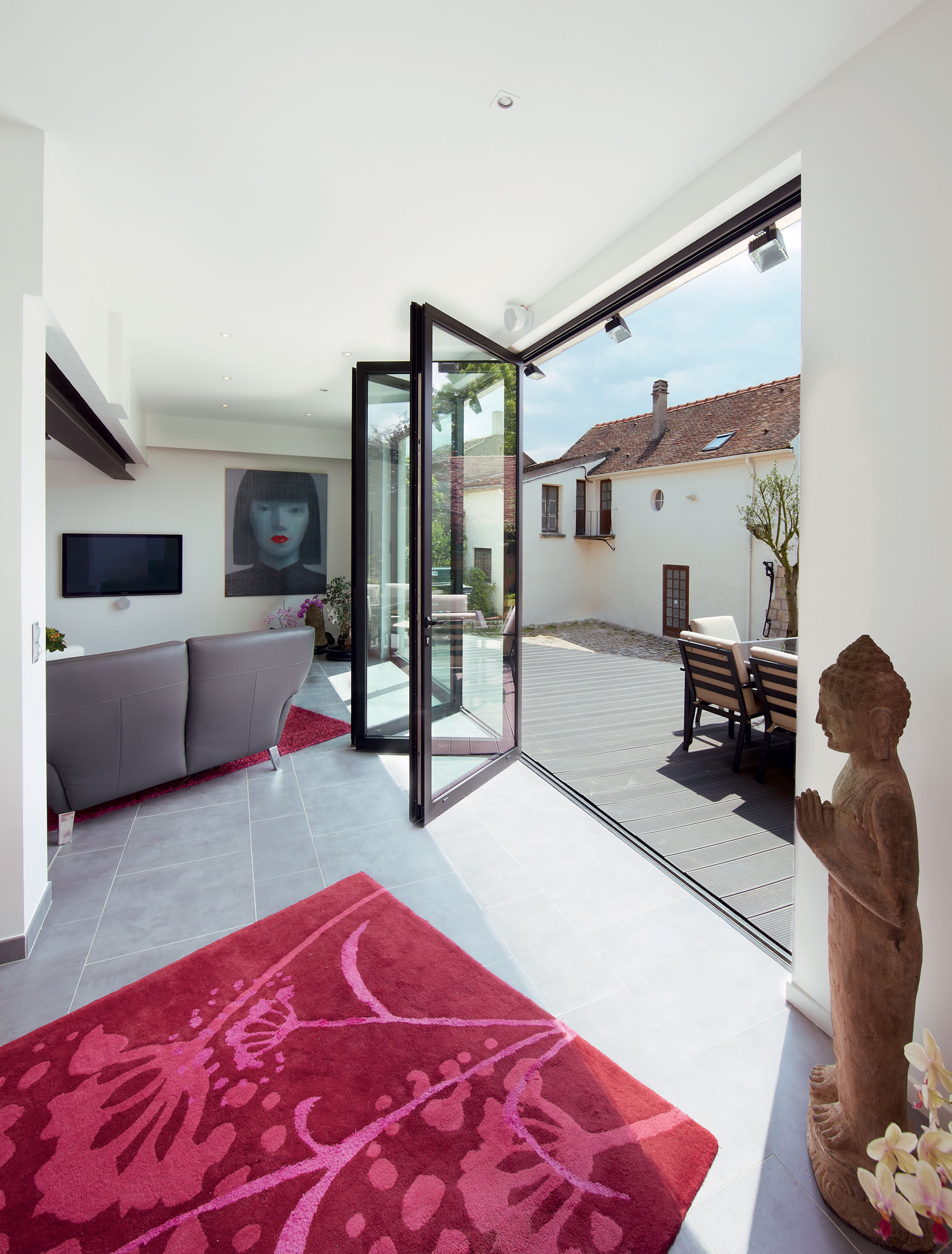 internal folding doors harlow