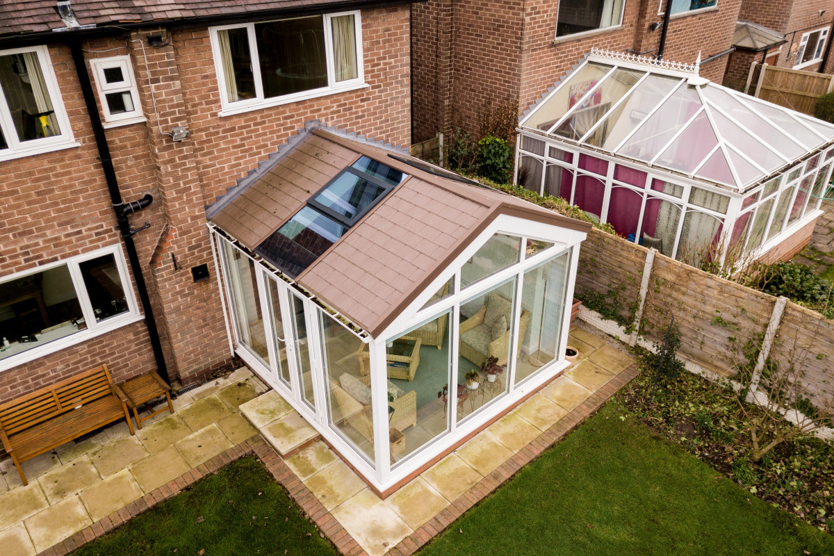 Warm roof conservatories Waltham Abbey