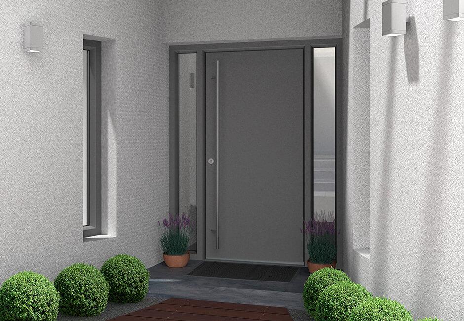 grey front door brentwood