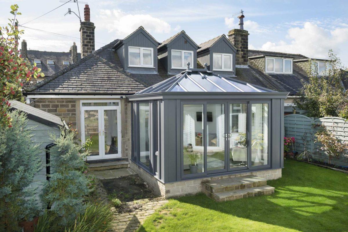 Modern conservatory Sawbridgeworth