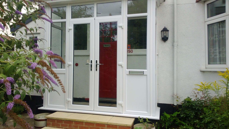 double glazed back doors harlow