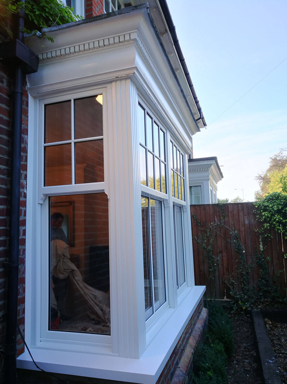 double glazed sash windows sevenoaks