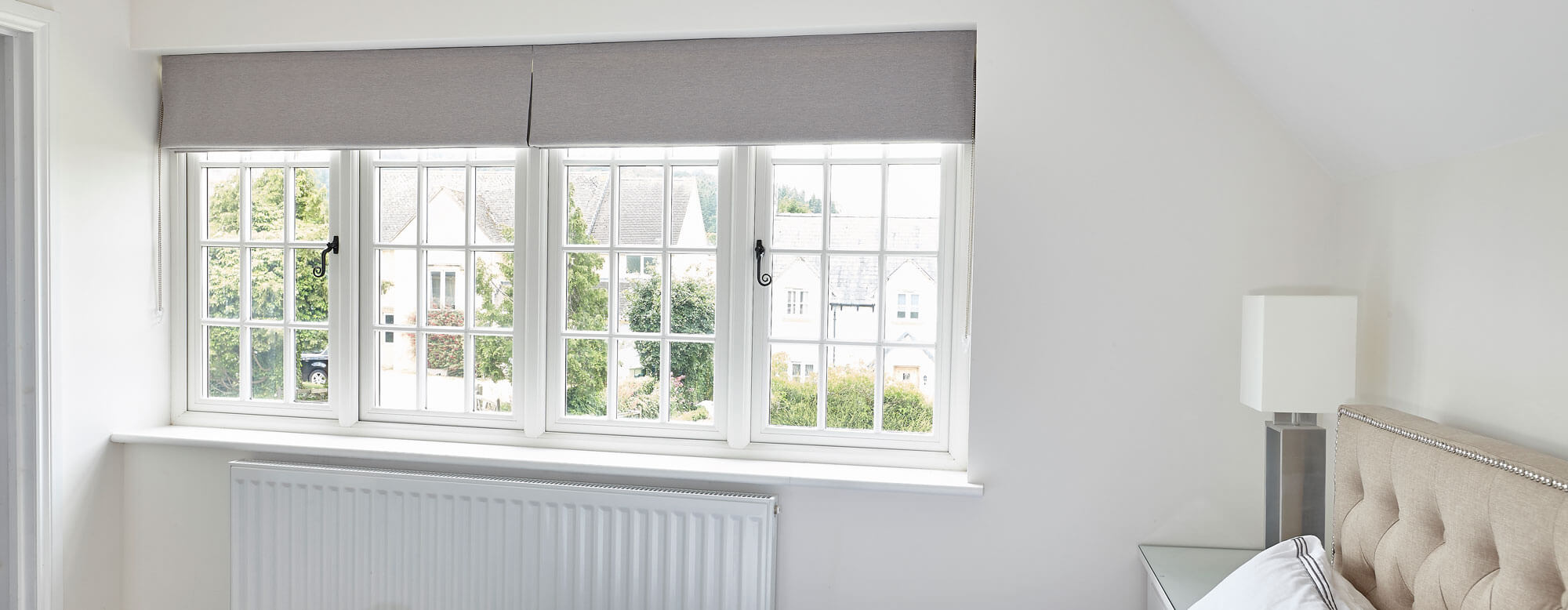 grey flush casement windows epping