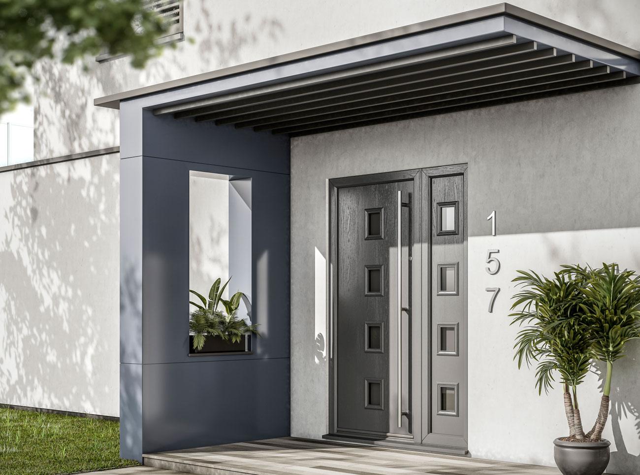 composite front doors price harlow